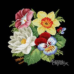 Code 221220 The size of the scheme is 94x94 stitches. A palette of 36 colors in DMC. The scheme uses only one type of stitch - a full cross. The scheme is suitable for embroidery with beads and petit point. The background for this embroidery will suit anyone but white. Price 4$