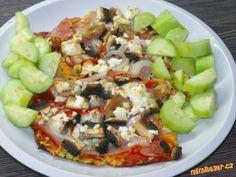 Cuketová pizza zcela bez mouky