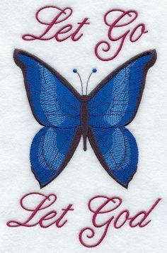 Let Go Let God design (F9186) from www.Emblibrary.com