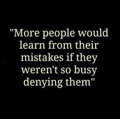 yes, I need to keep reminding myself. #mistakes
