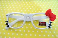 Adorable Sanrio Frames #Christmas  #Sunglasses #HelloKitty