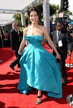 Jessica Pare   2013 Emmy Awards