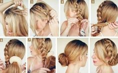 Low Bun Updo Hairstyles Tutorials 10 Side Bun Tutorials Low Messy and Braids Updos Pretty Of 98 Wonderful Low Bun Updo Hairstyles Tutorials Updo Hairstyles Tutorials, French Braid Hairstyles, Top Hairstyles, Short Hair Updo, Elegant Hairstyles, Bun Tutorials, Hairdos, Wedding Hairstyles, Evening Hairstyles
