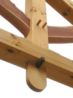 Beautiful timber frame work by Heirloom Timber Framing