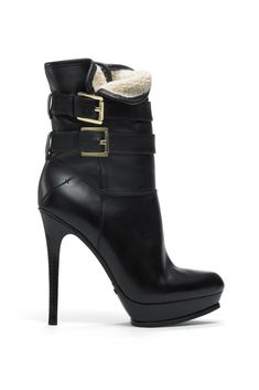 fall 2012, Michael Kors, shoes, boots + booties, black