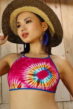 Thai-dyed halter top. Are you still a hippie girl?