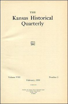 Kansas Historical Quarterly, February 1939. OMG! Open this to a whole bunch of old great cowboy ballads.