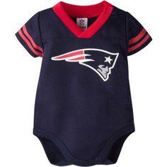 72431d9fc NFL New England Patriots Baby Boys Mesh Dazzle Bodysuit - Walmart.com