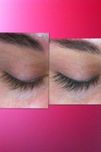Lash Tint Before & After by @Dustin Ederer Skin Care