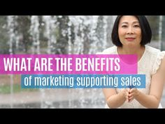 What Are the Benefits of Marketing Supporting Sales Benefit, Marketing, Books, Youtube, Libros, Book, Book Illustrations, Youtubers, Youtube Movies