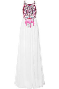 Mara Hoffman Embroidered voile maxi dress | NET-A-PORTER( Wish List for Mexico)