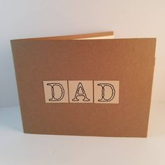 Father's Day Card - Happy Father's Day - Father's Day Gift - Father's Day Wallet Card - Handmade Greeting Card - Card For Dad - Wallet Gift Handmade Greetings, Greeting Cards Handmade, Gifts For Father, Happy Fathers Day, Cute Wallets, Crystal Gifts, Graduation Party Decor, Day Wishes, You Are Awesome