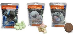 Astronaut Foods Freeze-Dried Ready To Eat Space Food Ice Cream 3 Flavor 6 Pouch…