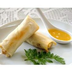 Baked Pork Spring Rolls @ allrecipes.co.uk