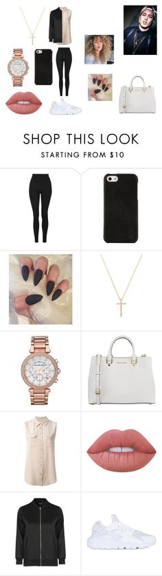 """""""At Derek Luh show"""" by junebug02 on Polyvore featuring Topshop, Polo Ralph Lauren, Nephora, Michael Kors, MICHAEL Michael Kors, Equipment, Lime Crime and NIKE"""
