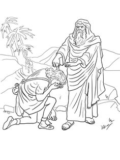 King David Coloring pages. Select from 31983 printable Coloring pages of cartoons, animals, nature, Bible and many more. School Coloring Pages, Cars Coloring Pages, Bible Coloring Pages, Coloring Pages For Girls, Animal Coloring Pages, Free Printable Coloring Pages, Kids Coloring, David Biblia, Sunday School Projects