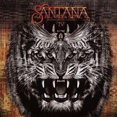 Santana - Santana IV ▪️ Rating ▪️ Carlos Santana can shred, but this album alternates between lyrics so corny I laughed out loud, spacey, aimless jams, and music that sounds like it belongs in a commercial. Santana Albums, Santana Guitar, Cover Art, Lp Cover, Woodstock, Hard Rock, Heavy Metal, Gregg Rolie, Carlos Santana