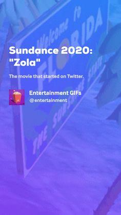 """Sundance """"Zola"""" by Entertainment GIFs Movie Gifs, Entertaining, Movies, Films, Cinema, Movie, Film, Movie Quotes, Movie Theater"""