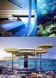 Dubai Underwater Hotel With Beautiful Rooms And Restaurants Add This To My List Of Places Go