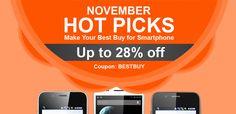 PandaWill - ноемврийски промоции на телефони. Намаления до 28%-всичко за 1 лев