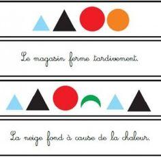 Bandes de grammaire Montessori | Boutique ''documents Montessori''