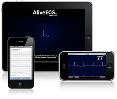 I saw this at the AVMA conference this year.  I want one!!!    AliveCor   Turns Your iPhone or iPad into an ECG Device
