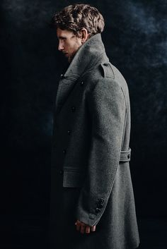 almost that time // peacoat, winter style