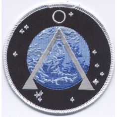 Stargate SG-1 TV Series Project Earth Logo PATCH