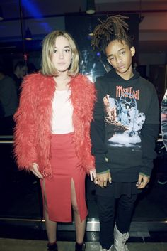 Jaden Smith and Sarah Snyder Are the Best Dressed Couple-Wmag