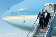Trump Anti-Muslim Tweets Could Backfire in Travel Ban Cases  President Donald J. Trump and Vice President Mike Pence exiting Air Force One on August 22 2017. Trump's tweets are coming back to haunt the travel ban case. The White House / Flickr  Skift Take: Keep tweeting Mr. President. Keep tweeting.   Dennis Schaal  President Donald Trumps retweet of a series of anti-Muslim videos posted by a leader of a far-right group in the UK risks undermining his travel-ban defense a week before two…