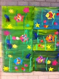 Meet The Creative Part of Me : There is only one you. Summer Crafts, Diy Crafts For Kids, Art For Kids, Sea Crafts, Fish Crafts, Sea Life Art, Under The Sea Theme, Hawaiian Theme, Colorful Fish