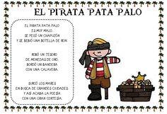 """Plastificando ilusiones: Poesía Proyecto Piratas """"El pirata Patapalo"""""""