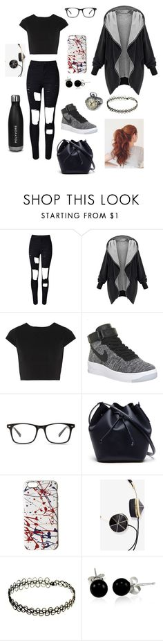 """""""Untitled #28"""" by gissellebeltre on Polyvore featuring WithChic, Alice + Olivia, NIKE, Lacoste, Marc Jacobs, Frends and Bling Jewelry"""