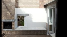 outdoor fireplace- essential!  Owen and Vokes