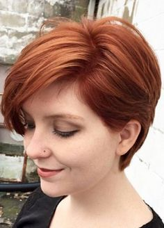 Auburn hair coloring (Jamie Chaiken)