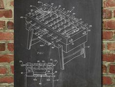 Football Game Table Patent  - www.eklectica.in #eklectica
