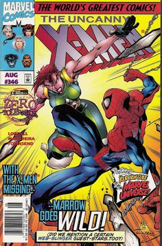 Cover for The Uncanny X-Men (Marvel, 1981 series) #346 [Direct Edition]