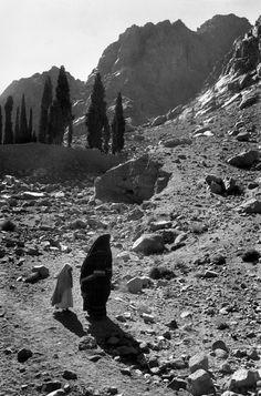 Micha Bar Am - Sinai. Mount Sinai (Mount Musa). 1967.