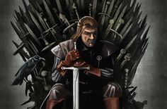 Ned Stark - Game of Thrones - Steven Raaymakers
