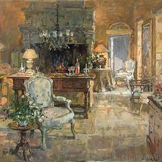 Susan Ryder, RP NEAC (English)  'The Mill House, Sarlat'