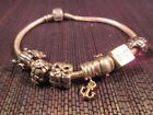 Pandora Bracelet with 7 Authentic ALE Charms