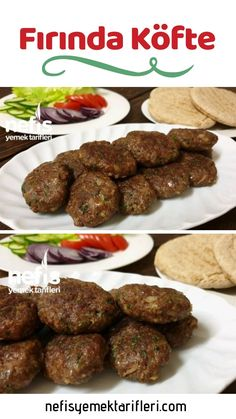 Baked Meatballs - Yummy Recipes - # How to make Meatball Recipe in the oven? The illustrated explanation of the Baked Meatball Recipe in the book of people and photos of those who try it are here. Author: Hacer Eraslan # In fırındaköf # Köftetarif of the Baked Meatball Recipe, Meatball Bake, Meatball Recipes, Yummy Recipes, Gourmet Recipes, Baking Recipes, Yummy Food, Grape Jelly Meatballs, Turkish Recipes