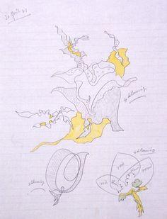 Design for decoration for ceramics: floral motif
