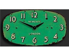 Newgate green Wall Clock £45