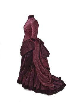 vestido de la Reina Maria Cristina