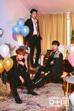 Wanna One I promise you Night version photoshoot Jinyoung, K Pop, Jaehwan Wanna One, Bae, Nothing Without You, Guan Lin, Lai Guanlin, Fandom, I Promise You
