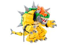 Another awesome example of how LEGO can make things epic! A Mecha Bowser made out of LEGO~