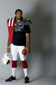 Larry Fitz. - this guy is like a ray of sunshine!!!  Love him!
