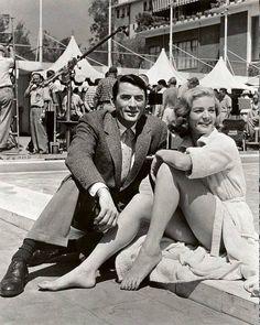 Gregory Peck and Lauren Bacall