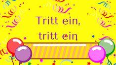 """""""Tritt ein"""" (Faschingslied) - Kreisspiel - nach bekannten Melodie - mp3 (auch KARAOKE) und Noten hier: www.kitakiste.jimdo.com"""